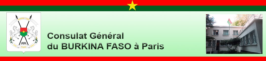 Consulat Général du Burkina Faso à Paris
